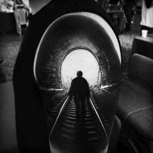 #AlexBruz #hyperrealism #portrait #scene #opticalillusion #3D