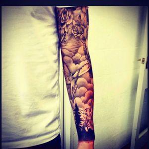Dream tattoo #tattoo #sleeve #arm #dream #oneday