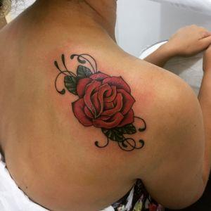Tatuagem rosa #rosa #rose