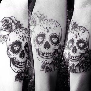#tattoo #skull #tattoosp
