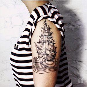 #dashasumkina #ship #water