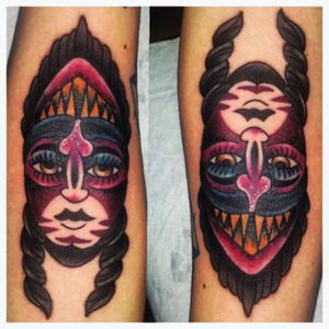 double sided indian/demon