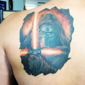 #starwars #KyloRen #tattoo #cazeINK #ink #pain #fanart