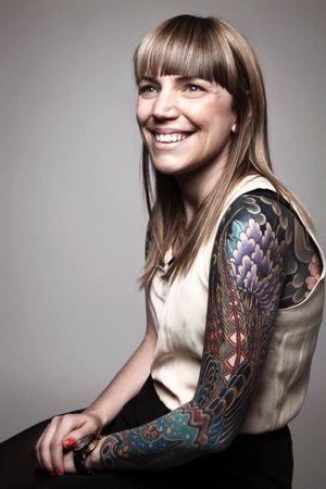 Amy Bedford #pheasanttattoo #peony #japanesetattoo #tattoodobabes #tattoodo #flowertattoo #bodysuit