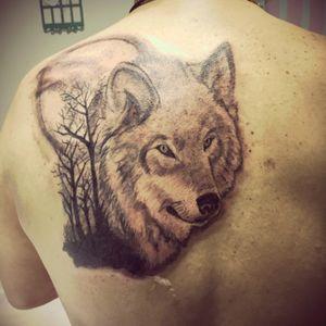#lobo #wolf #tattooink