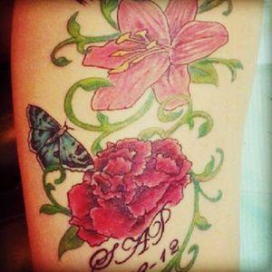 My first tattoo #tattoed