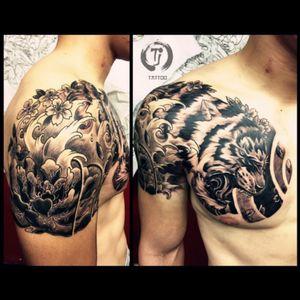 my work #tattoo #tattooartist #tattoos #samuraitattoo #tjtattoo #tattoolife #nyctattoo