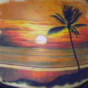 Wow so pretty. Sunrise-sunset my happy place. #megandreamtattoo