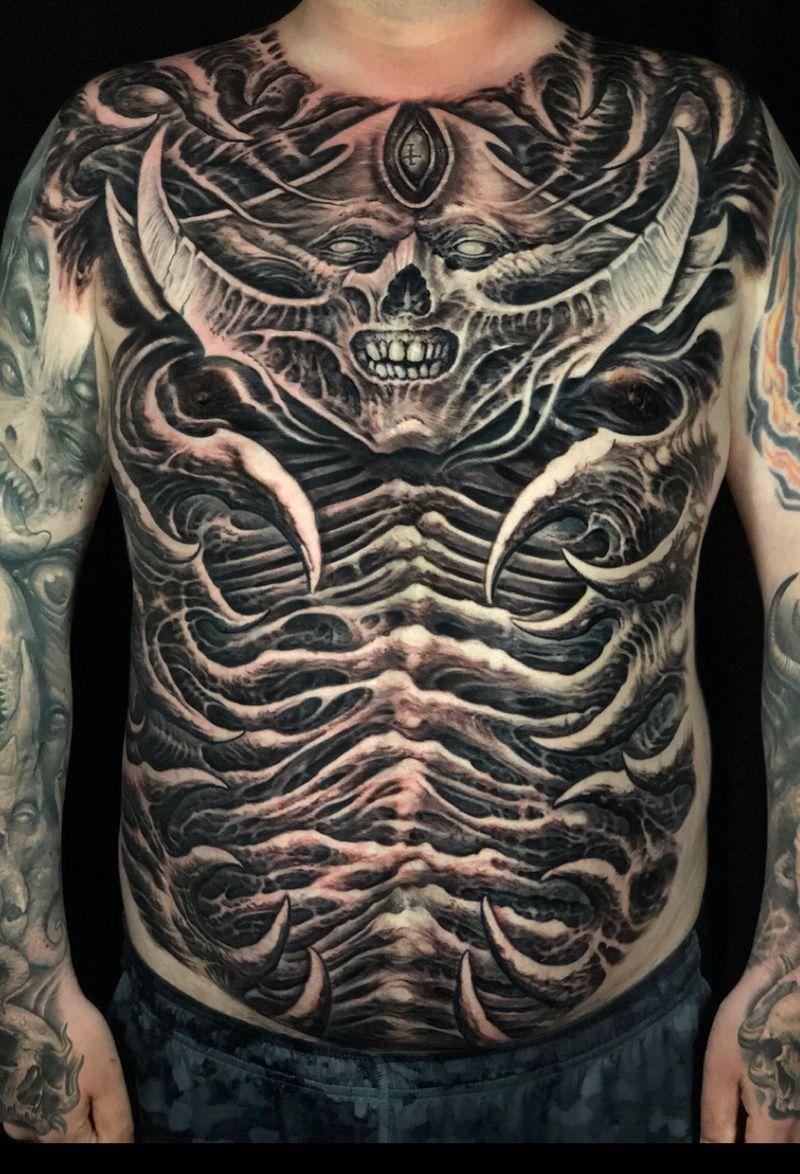 Tattoo from Jeremiah Barba
