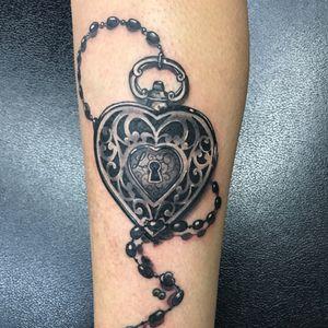 Heart lock chain #heartlock
