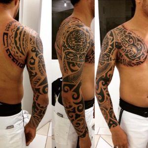 #maori #tribal #tattoo #JeffinhoTattow
