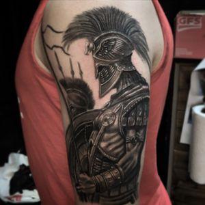 Spartan half sleeve by Ronny James