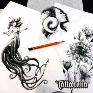 #tattoorana #alextakahashi #designtattoo #create