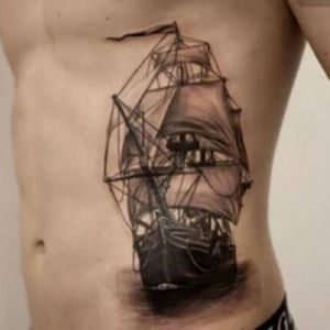 Would love a neo trad ship on my arm as well #ship #tallship #clipper #shiptattoo