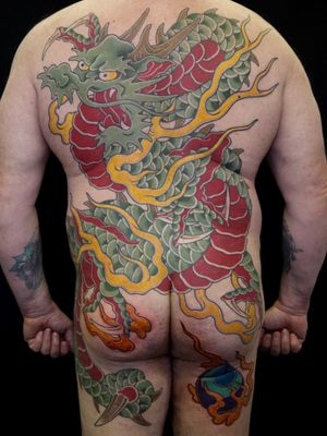 #japanesetattoo #irezumi #horimono #tattoos #tattoouk #tattoolondon #lucaortis #tattoooftheday #bodysuit