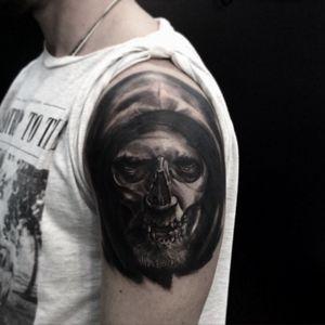 Joao Caveira #silenceart #tattoocuritiba #tattoodo #tattoo #alexandreprim