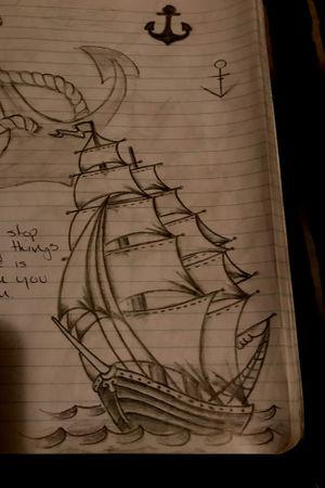"""""""Sail Away"""" Sketchbook"""
