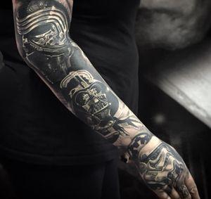 Healed #starwars from years ago #tattoo #tattoos #tattooartist #BishopRotary #BishopBrigade #BlackandGreytattoo #QuantumInk #ImmortalAlliance #SullenClothing #SullenArtCollective #Sullen #SullenFamily #TogetherWeRise #ArronRaw #RawTattoo #TattooLand #InkedMag #Inksav#BlackandGraytattoo #tattoodoapp #tattoodo