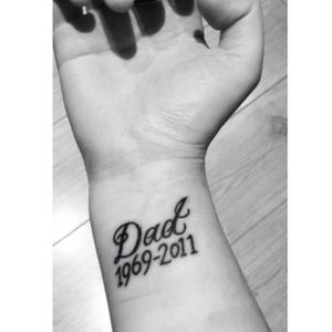 First tattoo done on my 18th birthday💙