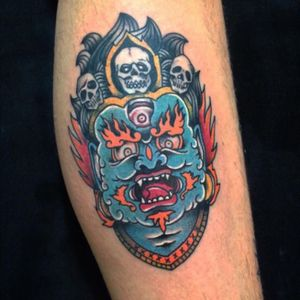 #traditionaltattoo #oldschooltattoo #colorful #classictattoo