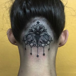 Dotwork head tattoo #blackwork #dotwork #dotworktattoo #blackinkonly #blackworkers #blackworkerssubmission #pittsburgh #pittsburghtattoo #headtattoo