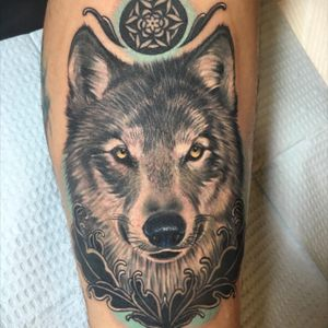 Another #wolftattoo Only 8 days left of the contest! Remember to upload your #megandreamtattoo!