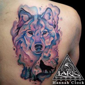 Tattoo by Hannah Clock. See more here: http://www.larktattoo.com/long-island-team-homepage/hannah-clock/ #watercolor #watercolortattoo #colortattoo #animaltattoo #animalwatercolor #animalwatercolortattoo #ladytattooers #femaletattooartist #femaletattooers #femaleartists #femaleartist #colorful #colorfultattoo #wolf #wolftattoo #watercolorwolf #watercolorwolftattoo #tattoo #tattoos #tat #tats #tatts #tatted #tattedup #tattoist #tattooed #tattoooftheday #inked #inkedup #ink #amazingink #bodyart #tattooig #tattoosofinstagram #instatats #larktattoo #larktattoos #larktattoowestbury #westbury #longisland #NY #NewYork #usa #art