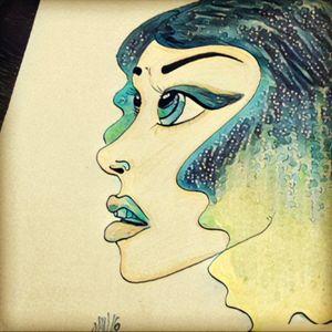 Doodle part 2 #ink #tattooshop #tattooshop #woman #sketch