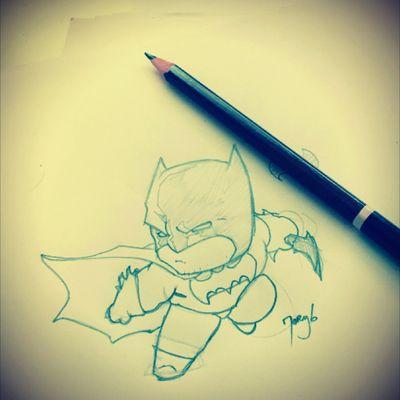 Havin fun drawing chibis 😁 #batman #chibi #drawing #dc #justiceleague