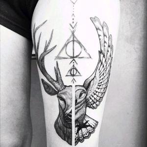 Harry potter Tattoo #tattoo #Harry #harrypotter #potterheads