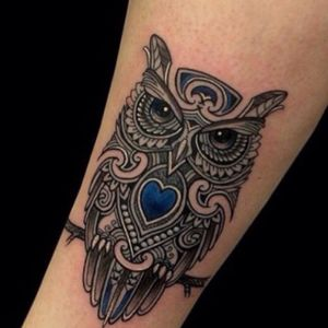 I really want a tattoo like this. It is an exaple so a good tattoo artist can design my own dreamtattoo #dreamtattoo #owl #megandreamtattoo