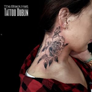 We had a very brave one here. The neck is a sensitive area to get inked but so beautiful. Well done to you @mickiewicz.paulina ! done by the talented @blackhatsergy @theblackhattattoodublin . . . #rosestattoo #roses #necktattoo #necktattoos #blacktattooworkers #blackworkerssubmission #blackwork #tattoo #tats #inkstinktsubmission #inkstinctsubmission #tattoomagazine #besttattooartist #besttattooideas #inked #dublin #tattoodublin #discoversdublin #dublin#theblackhat #blackhatdublin