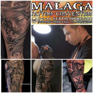 #tattooconvention #tattooartist #tattooart #spaintattooartist #thebestspaintattooartists #cheyennetattooequipment