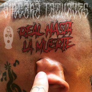 #realhastalamuerte #script #lettering #letras #tattoo #tattoos #tattooed #tatuaje #ink #inked #inkedgirls #inkedguys #girlswithtattoos #guyswithtattoos #blackandgrey #dynamicblack #instagood #instapic #sincaratatuajes