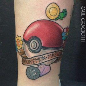 Pokemon tattoo #pokemon #pokemontattoo #neotraditional