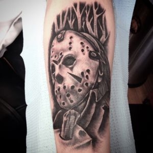#jason #JasonVoorhees #fridaythethirteenth #tattoo #tattoos