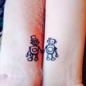 My joint tattoo with my boyfriend :)