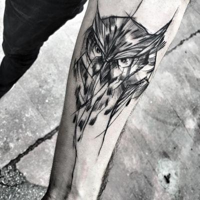 #owl#sketch
