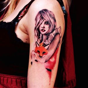 #portrait #fox