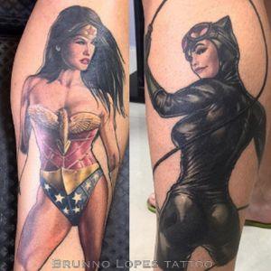 Comics tattoo