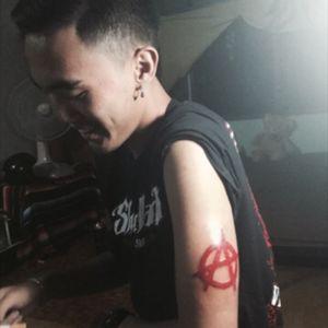 #anarchy #thailandtattoo