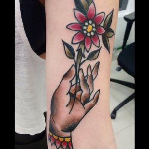 👌 por Alan do Oca Tattoo (Valinhos-SP) #traditional #oldschool #traditionaltattoo #oldschooltattoo