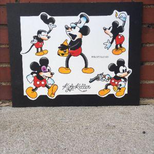 Mickey mouse flash. #traditional #mickeymousetattoo #tattooflash #eulogytattoo #disneytattoo