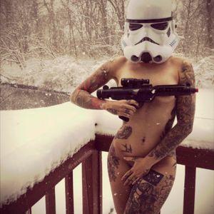 #starwars #tattoo #girl