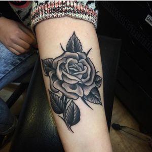 #blackandgrey #rose #samuelebriganti