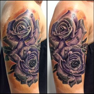 #rose #bishoprotary #fusionink #color #rose #sullenclithing