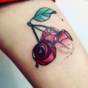 #cherry #geometric #color #cutesy