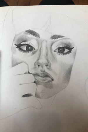 #selfportrait #realism #monochrome #beautiful #pencildrawing #workinprogress