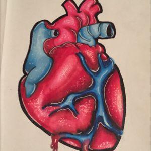 #heart #prismamarkers