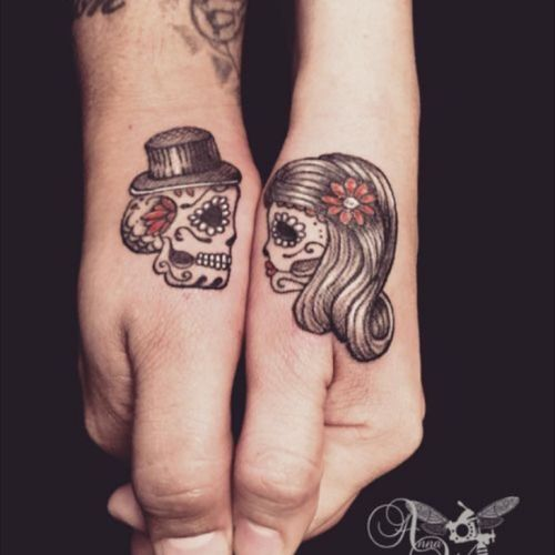 #sugarskull  #couples #dayofthedead